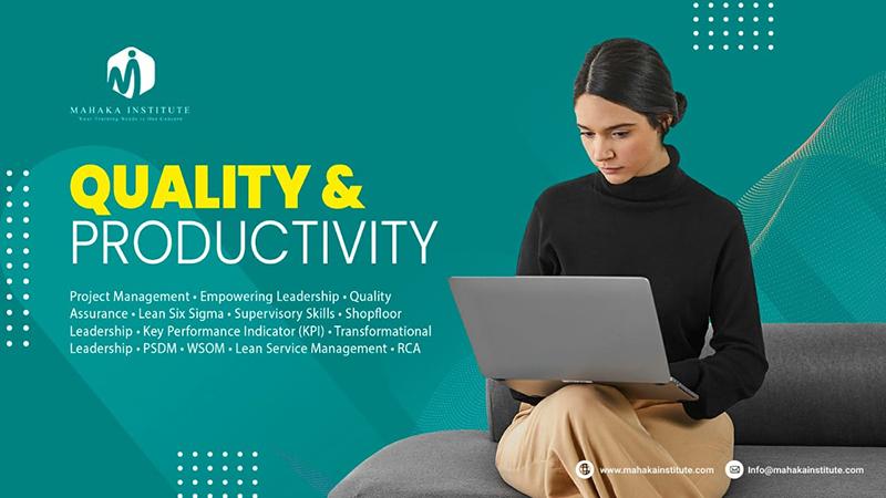 Training Quality & Productivity - Pelatihan Produktivitas Tenaga Kerja